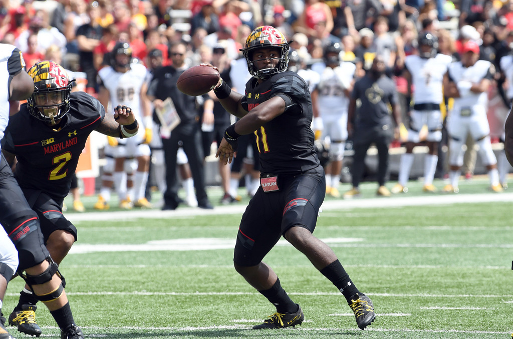 Kasim Hill shines in Maryland's 63-17 win over Towson
